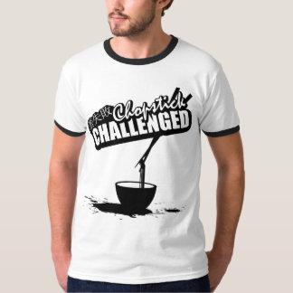 Chopstick Challenged Tshirts
