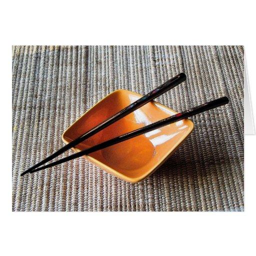Chopsticks Cards