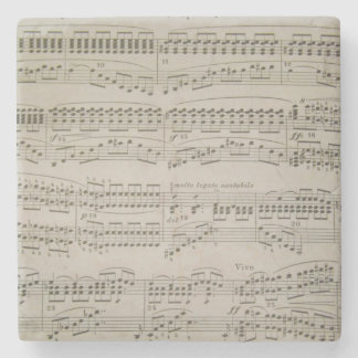 Chords and Arpeggios Marble Stone Coaster