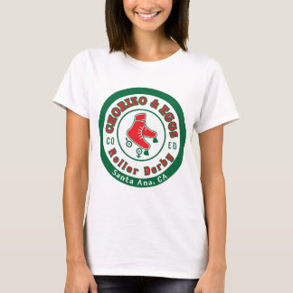 Chorizo & Eggs Co Ed Roller Derby T-Shirt