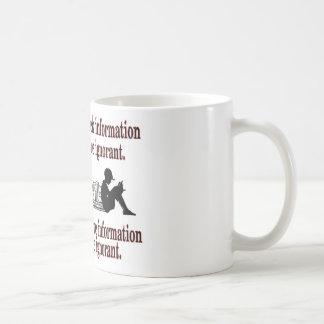 chosen ignorance coffee mug