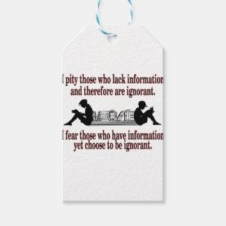 chosen ignorance gift tags