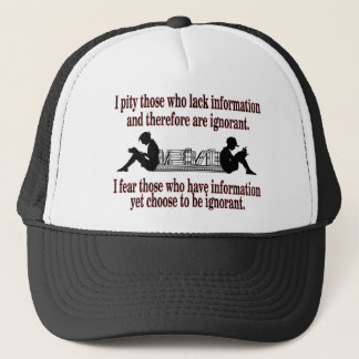 chosen ignorance trucker hat