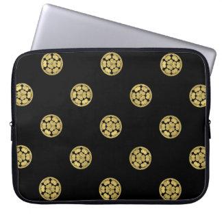 Chosokabe Mon Japanese samurai clan Computer Sleeves