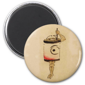 Chouchin-obake (Paper Lantern Ghost) Fridge Magnets