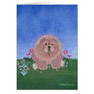 Chow art card