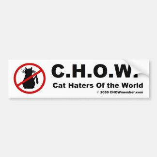 CHOW Bumper Sticker