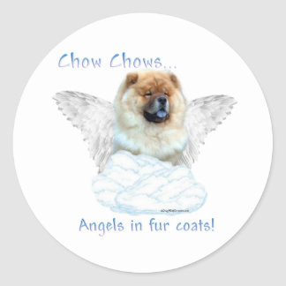 Chow Chow Angel - Sticker
