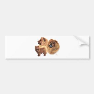 Chow Chow Bumper Sticker