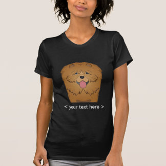 Chow Chow Cartoon Personalized T-Shirt