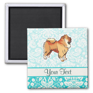 Chow Chow; Cute Square Magnet