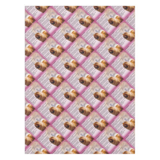 Chow Chow Dog Design - Daughter Poem Tablecloth