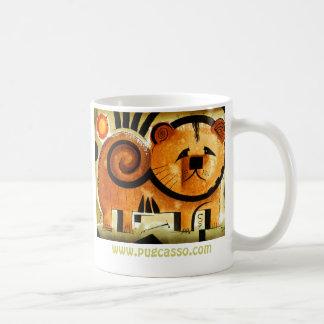 Chow Chow dog  dk_2005aug8m, www.pugcasso.com Coffee Mug