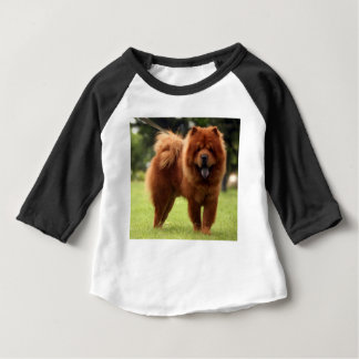 Chow Chow Dog Poses Baby T-Shirt