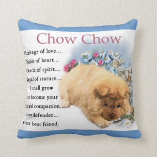 Chow Chow Heritage of Love Puppy Cushion