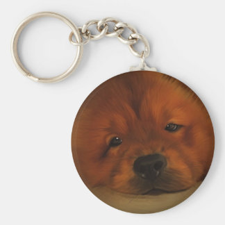 Chow Chow Key Ring