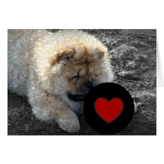 Chow Chow LOVE Card