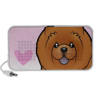 Chow Chow Love Laptop Speakers