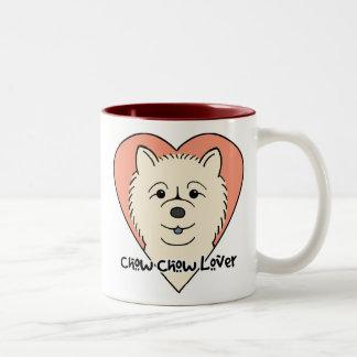 Chow Chow Lover Two-Tone Coffee Mug