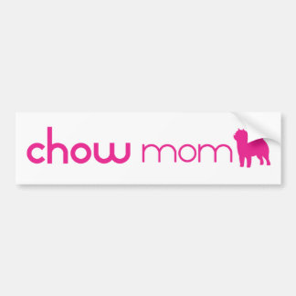 Chow Chow Mom Bumper Sticker