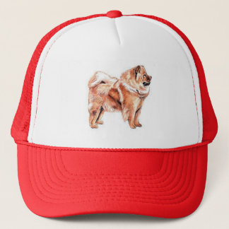 Chow Chow Red Trucker Hat
