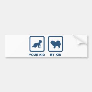 Chow Chow Rough-Coat Bumper Sticker