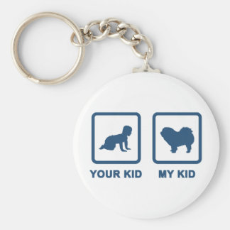 Chow Chow Rough-Coat Key Chains