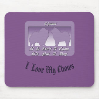 Chow Chows Mousepad