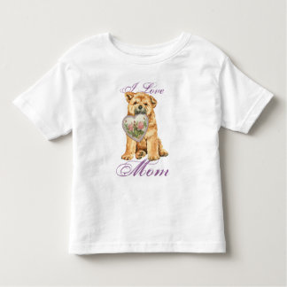Chow Heart Mom Toddler T-Shirt