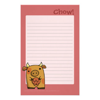Chow Writing Pad Stationery