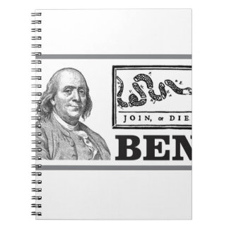 chpped snake ben notebook