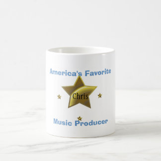 CHRIS: AMERICA'S FAVORITE MUSIC PRODUCER COFFEE MUG