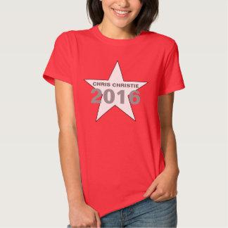 Chris Christie 2016 - Women's Star T-Shirt