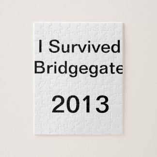 Chris Christie - Bridge Scandal - Bridgegate Shirt Jigsaw Puzzle