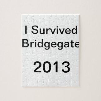 Chris Christie - Bridge Scandal - Bridgegate Shirt Jigsaw Puzzle