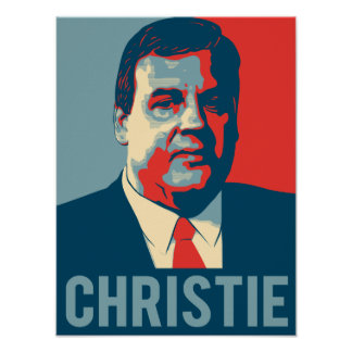 Chris Christie Hope Poster