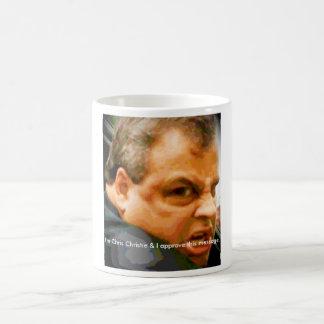 Chris Christie - Who u lookin' at?! Basic White Mug