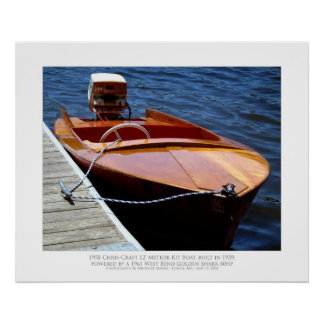 Chris-Craft Poster