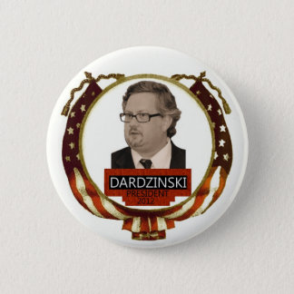 Chris Dardzinski for President 2012 6 Cm Round Badge