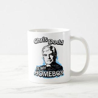 Chris Dodd is my homeboy Basic White Mug