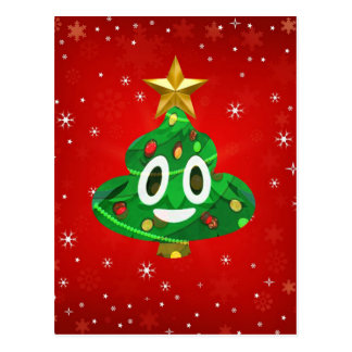 chris emoji poop postcard