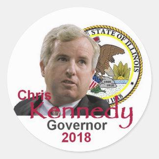 Chris KENNEDY Governor Sticker