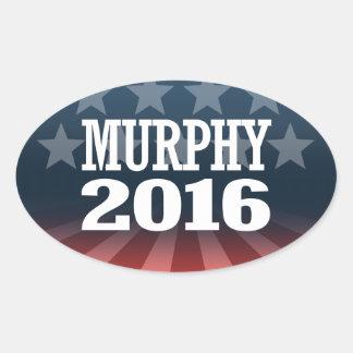 Chris Murphy Oval Sticker