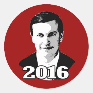 Chris Murphy Round Sticker
