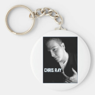chris ray products basic round button key ring