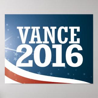 Chris Vance 2016 Poster