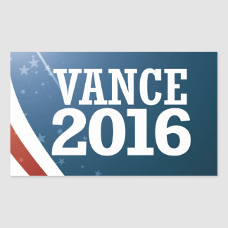 Chris Vance 2016 Rectangular Sticker