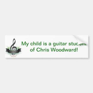 Chris Woodward Child Student Bumper Sticker