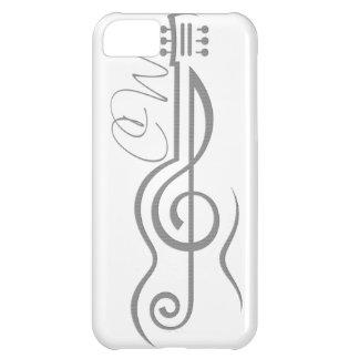 Chris Woodward Treble Guitar Logo iPhone 5c Case