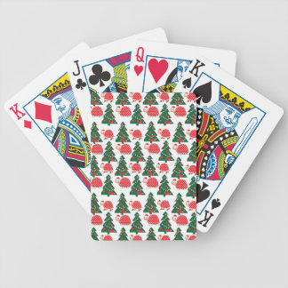 chrismas bicycle playing cards